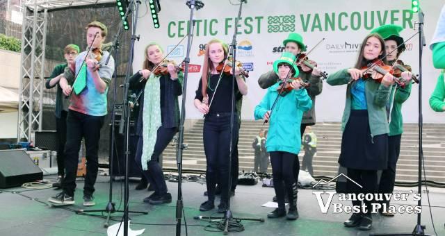 North Shore Celtic Ensemble at CelticFest