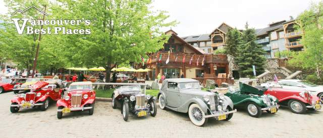 All British Car Show at Whistler Creekside