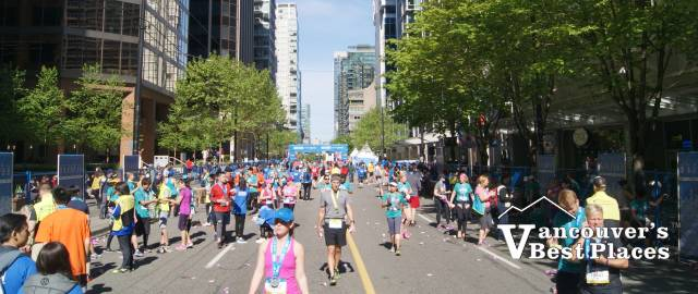 BMO Marathon on Pender