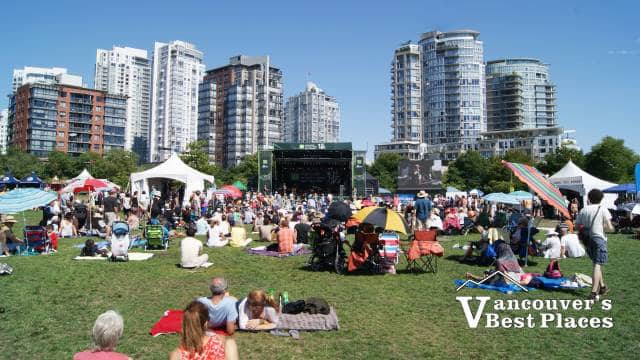 Jazz on David Lam Lawns