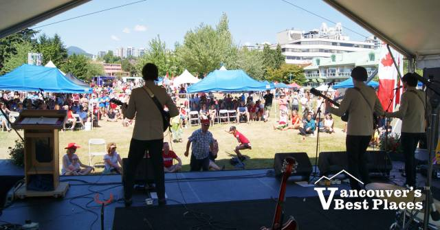 North Vancouver Canada Day Band