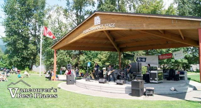 Performance Stage at Rocky Point Park