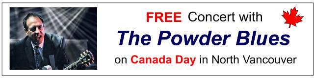 Powder Blues on Canada Day