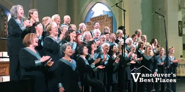 Universal Gospel Choir at St. Andrew's
