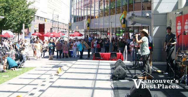 Warren Dean Flandez at CBC Nooners