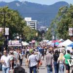 Car Free Day on Commercial