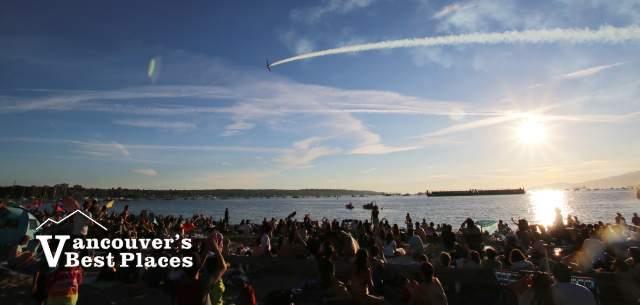 English Bay Celebration of Light Air Show