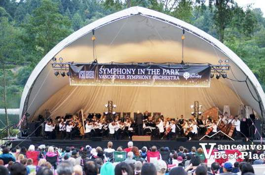Vancouver Symphony in Burnaby