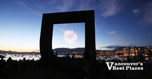 Vanier Park Fireworks