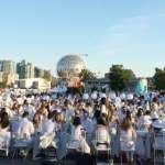 Diner en Blanc at Concord Pacific Place