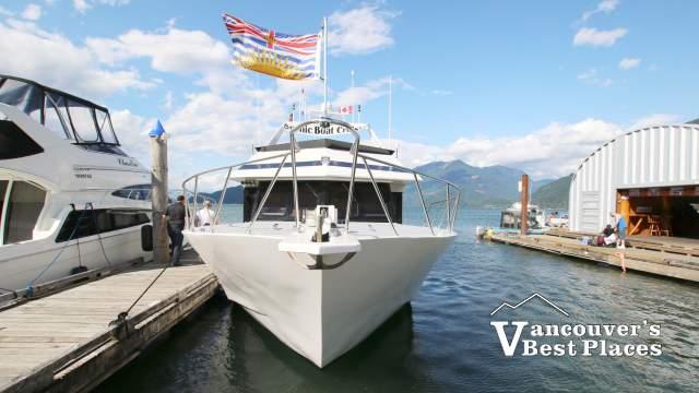 Harrison Lake Cruise Boat