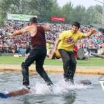 Log Rolling Competition at Squamish Days