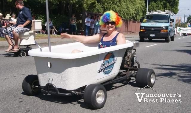 Tsawwassen Parade Bath Tub Entry