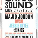 Safe & Sound Music Fest Poster