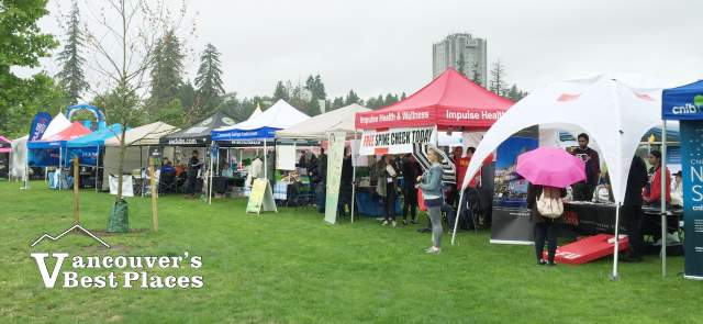 Surrey Fest Downtown Display Booths