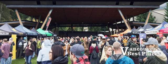 Whistler Beer Festival Crowds