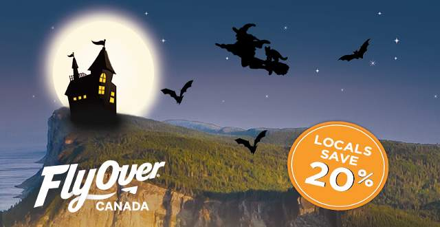 Flyover Canada at Halloween
