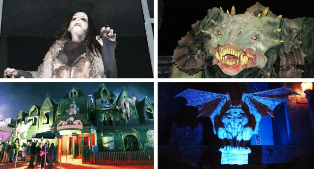 Fright Nights Haunted Houses