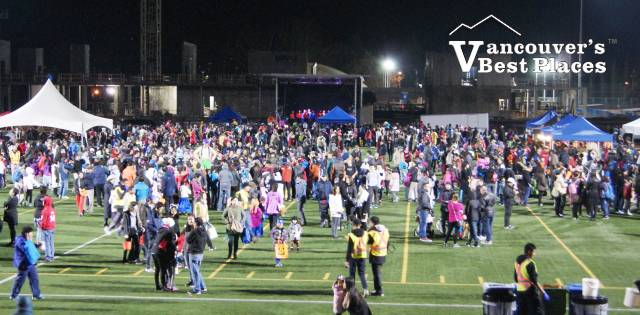 Richmond Halloween Festival Crowds