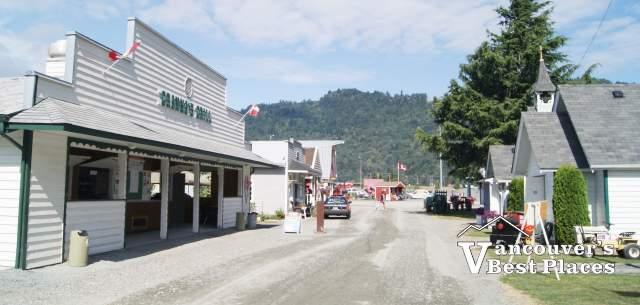 Atchelitz Pioneer Village Main Street