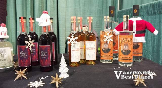 Christmas Spirits Alcohol at Chilliwack Craft Fair