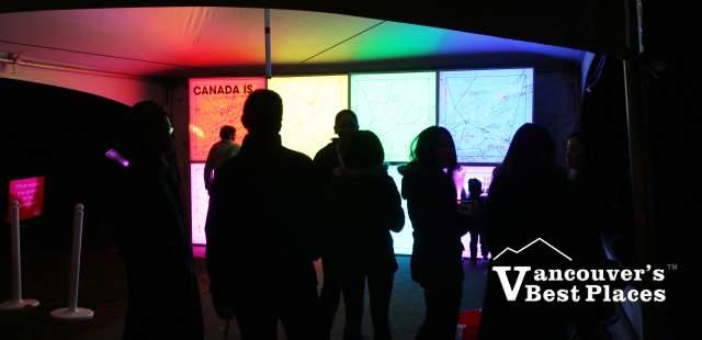Light Display at Surrey Light Festival