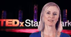 Claire Snyman at TEDx 2018
