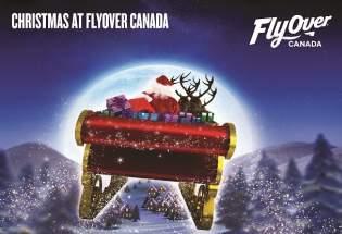 FlyOver Canada Santa Scene