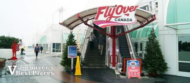 FlyOver Canada on a Rainy Day