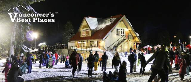 New Year's Eve at Mt Seymour