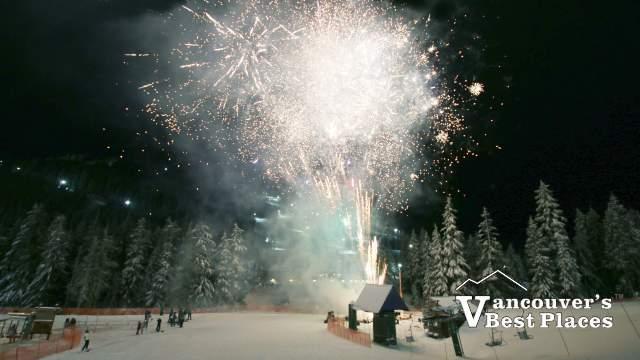 Cypress Mountain Fireworks