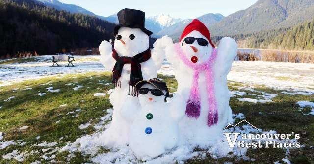 Family Day Snowmen