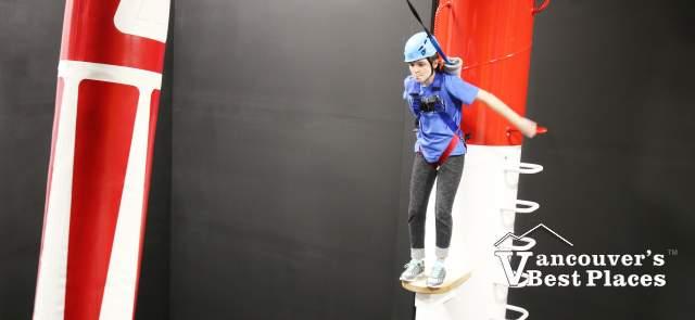 Girl on Leap of Faith