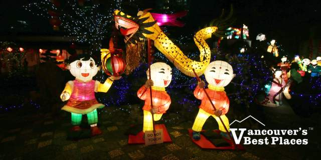 Fairy Tale Lanterns at Sun Yat-Sen Garden