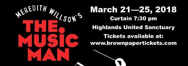 Highlands United Music Man Play