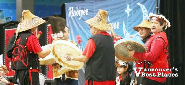 Hoobiyee First Nations Drummers