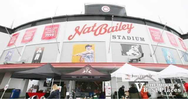Nat Bailey Stadium on Market Day