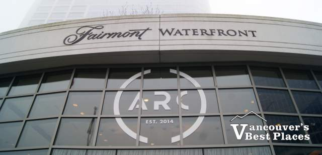 Arc Restaurant at Fairmont Waterfront
