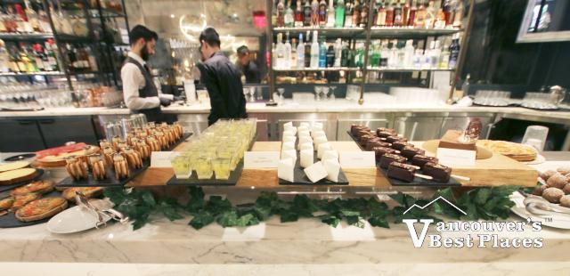 Boulevard Restaurant Brunch Desserts