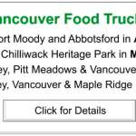 Greater Vancouver Food Truck Festivals Schedule