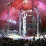 Inside the Circus Big Top