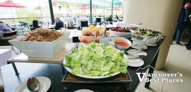 P2B Buffet Table