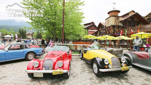 British Car Show at Whistler Creekside