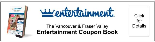 Entertainment Coupon Book (Click for Details)