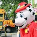 Food Truck Festival Mascot in Coquitlam