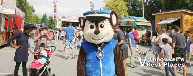 Paw Patrol at Coquitlam Food Truck Festival