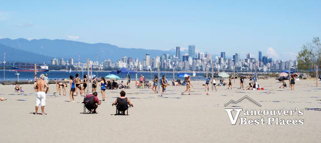 Beach Volleyball at Spanish Banks