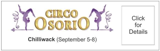 Circo Osorio Circus in Chilliwack 2019