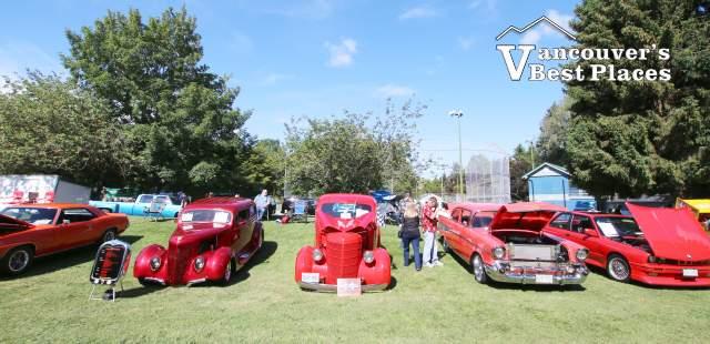 Classic Car Show at Steveston Village