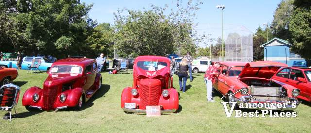 Classic Cars at Steveston Park